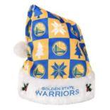 FOCO Golden State Warriors Christmas Santa Hat