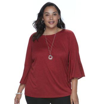 Plus Size Apt. 9® Necklace Top