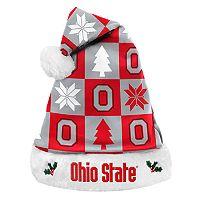 FOCO Ohio State Buckeyes Christmas Santa Hat