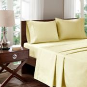 Madison Park 400 Thread Count Aloe Vera Cotton Sheet Set