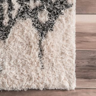nuLOOM Eskimo Milda Abstract Shag Rug