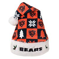 FOCO Chicago Bears Christmas Santa Hat
