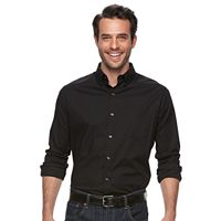 Men's Croft & Barrow® True Comfort Classic-Fit Stretch Button-Down Shirt