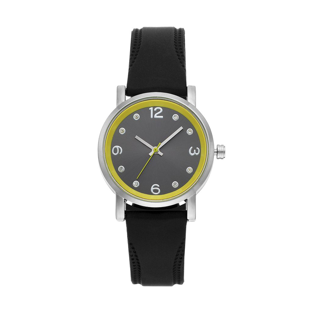 Women's Crystal Accent Watch