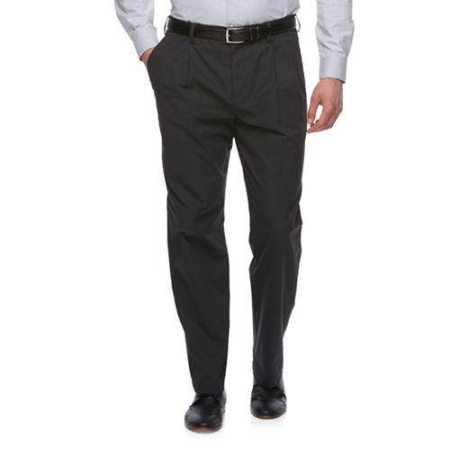 Big & Tall Croft & Barrow® Classic-Fit Easy-Care Stretch Pleated Khaki Pants