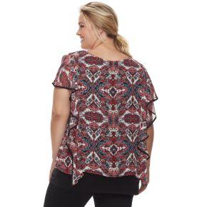 Plus Size Apt. 9® Scroll Popover Top