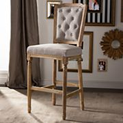Baxton Studio French Country Chic Bar Stool