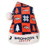 FOCO Denver Broncos Christmas Santa Hat
