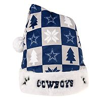 FOCO Dallas Cowboys Christmas Santa Hat