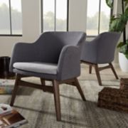 Baxton Studio Mid-Century Modern Arm Chair