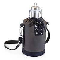 Picnic Time 64-oz. Stainless Steel Growler with Tote