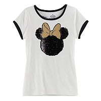 Disney's Minnie Mouse Girls 4-7 Flip Sequin Tee by Jumping Bean®