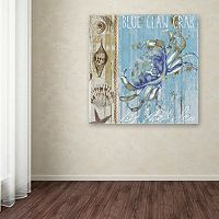 Trademark Fine Art Blue Crab I Canvas Wall Art