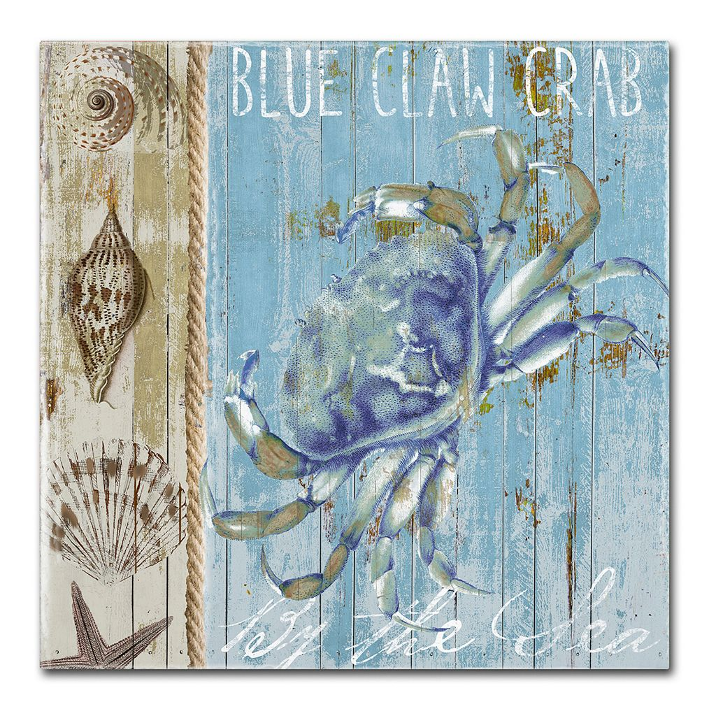 Trademark Fine Art Blue Crab I Canvas Wall Art