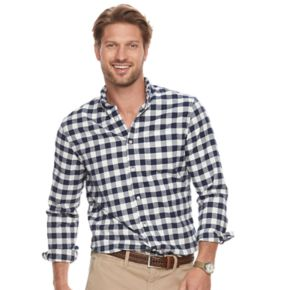 Big & Tall SONOMA Goods for Life? Modern-Fit Flexwear Oxford Button-Down Shirt