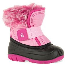 Kamik Sugarplum Toddler Girls' Water Resistant Winter Boots