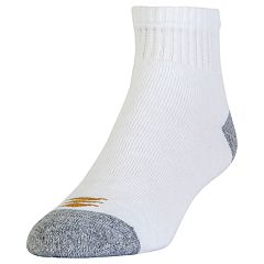 Men's GOLDTOE 6-pack AllSport PowerSox Quarter Socks