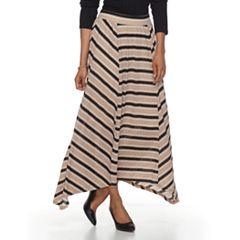 Women's Dana Buchman Sharkbite Maxi Skirt