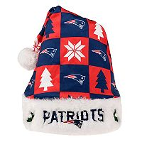 FOCO New England Patriots Christmas Santa Hat