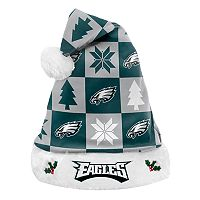 FOCO Philadelphia Eagles Christmas Santa Hat
