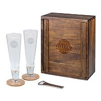 Picnic Time Detroit Pistons Pilsner Beer Gift Set for 2