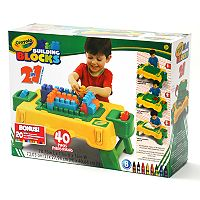 Crayola 40 pc Building Blocks Table Set