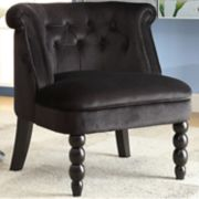 Baxton Studio Flax Tufted Accent Chair