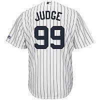Men's Majestic New York Yankees Aaron Judge Cool Base Replica MLB Jersey