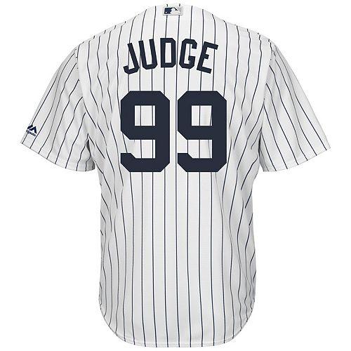 6dac48be Men's Majestic New York Yankees Aaron Judge Cool Base Replica ...