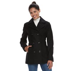 Women's Braetan Wool Blend Double-Breasted Peacoat