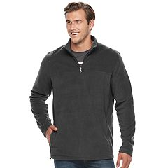 Big & Tall Croft & Barrow® Classic-Fit Arctic Fleece Quarter-Zip Pullover