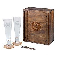 Picnic Time Philadelphia 76ers Pilsner Beer Gift Set for 2