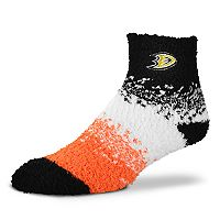 Women's For Bare Feet Anaheim Ducks Marquee Sleep Socks