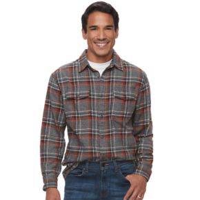 Men's SONOMA Goods for Life? Plaid Flannel Button-Down Shirt
