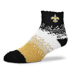 Women's For Bare Feet New Orleans Saints Marquee Sleep Socks