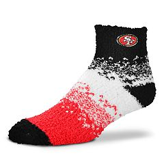 Women's For Bare Feet San Francisco 49ers Marquee Sleep Socks
