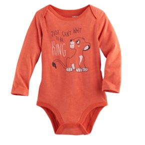 "Disney's The Lion King Baby Boy Simba ""Just Can't Wait To Be King"" Bodysuit by Jumping Beans®"