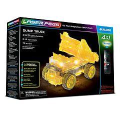 Laser Pegs 4-in-1 Dump Truck Kit