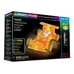 Laser Pegs 4-in-1 Racer Kit