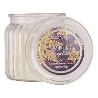 Holiday Memories Sparking Snowflake 13-oz. Candle Jar