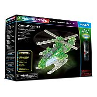 Laser Pegs 4-in-1 Combat Copter Kit