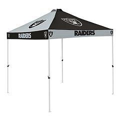 Logo Brand Oakland Raiders Checkerboard Tent