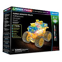 Laser Pegs 6-in-1 Super Monster Truck Kit