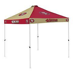 Logo Brand San Francisco 49ers Checkerboard Tent