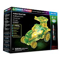 Laser Pegs 6-in-1 Farm Tractor Kit