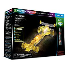 Laser Pegs 6-in-1 Dragster Kit