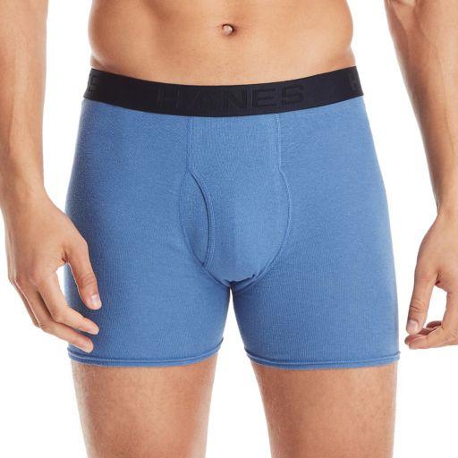 Men's Hanes Ultimate ComfortFlex Waistband Holiday Box 5-pack + 2 Bonus Boxer Briefs