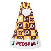 FOCO Washington Redskins Christmas Santa Hat