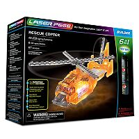 Laser Pegs 6-in-1 Rescue Copter Kit