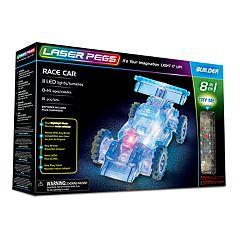 Laser Pegs 8-in-1 Race Car Kit